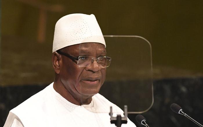 FILE: Mali president Ibrahim Boubacar Keita. Picture: AFP