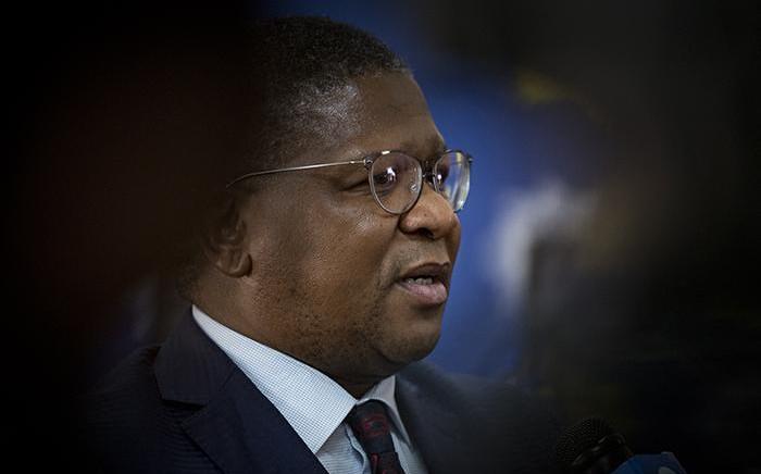 Police Minister Fikile Mbalula. Picture: Sethembiso Zulu/EWN