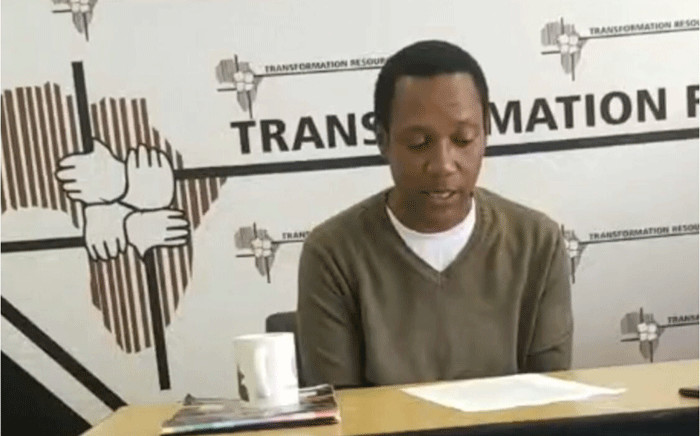SA journalist Paul Nthoba appeals to SA High Commission to keep its promise to facilitate his safe return from Lesotho. Picture: Nthakoana Ngatane/EWN.