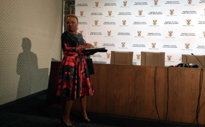 Small Business Development Minister Lindiwe Zul. Picture: @SAgovnews/Twitter