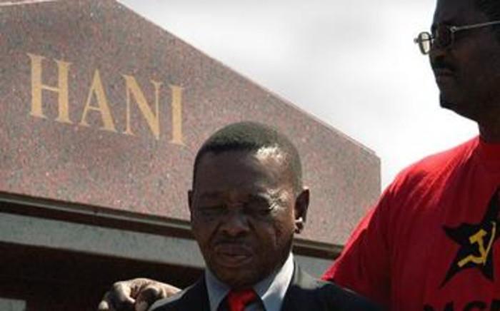 South African Communist Party (SACP) leader Blade Nzimande.