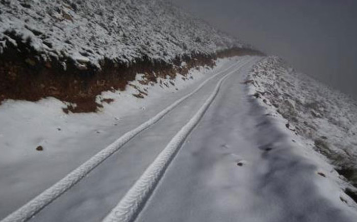 Snow in Matroosberg, near Ceres in the Western Cape on 14 July 2012. Picture: Niel Swart/iWitness