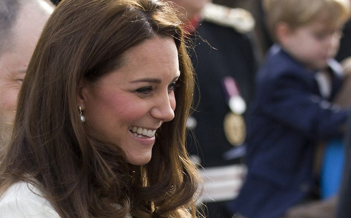 FILE: Catherine, Duchess of Cambridge, in west London on 12 March, 2015. Picture: AFP.