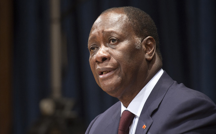 FILE: President of Ivory Coast Alassane Ouattara. Picture: United Nations