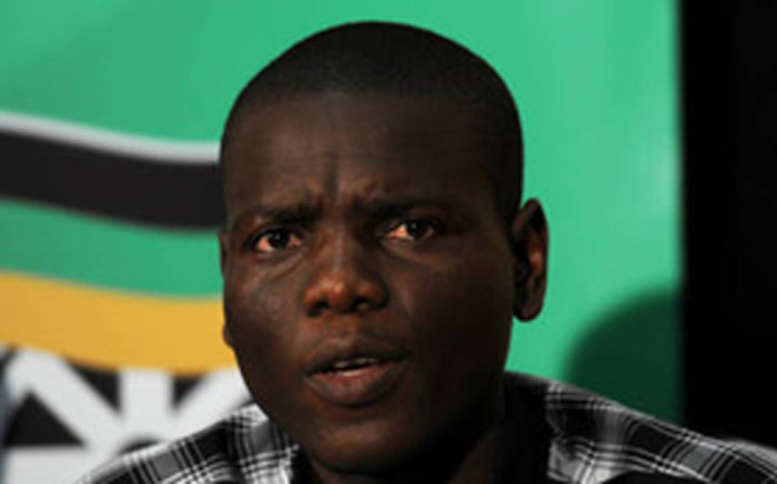 ANC Youth League Acting President Ronald Lamola. Picture: SAPA.