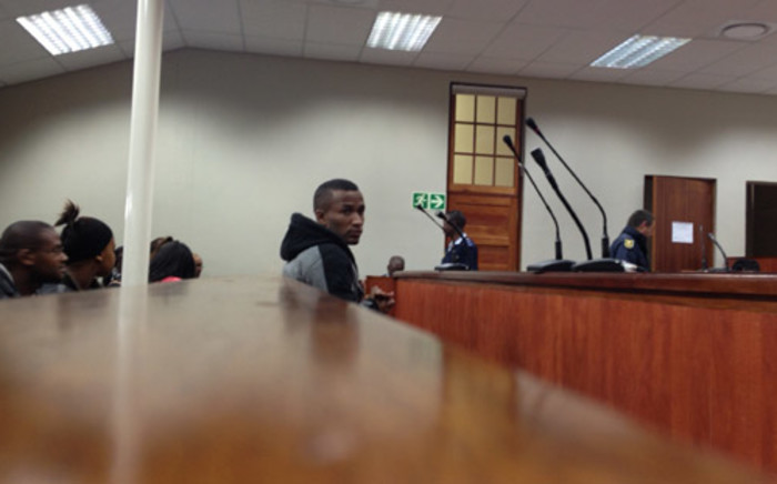 Johannes Kana in the dock during sentencing at Swellendam High Court. Picture: Renee de Villiers/EWN
