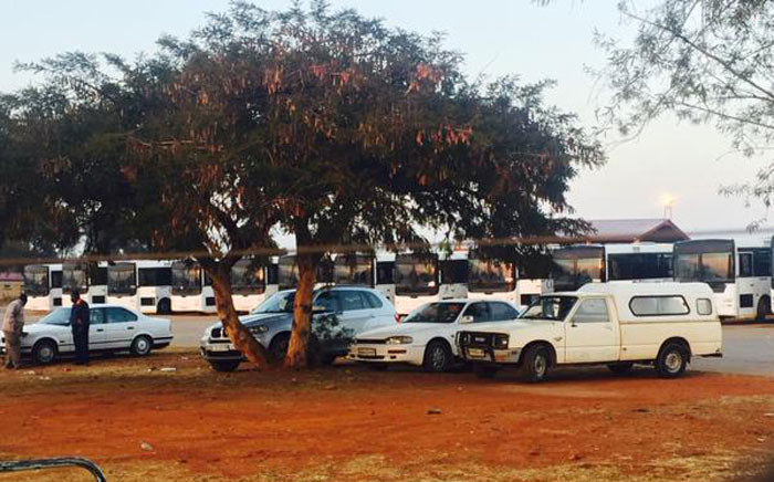 FILE: Autopax buses at the depot in Mamelodi on 30 June 2015. Picture: Dineo Bendile/EWN.