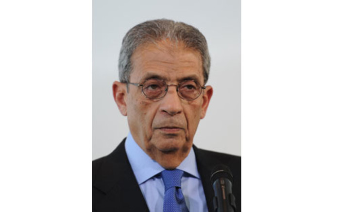 Amr Moussa. Picture: AFP
