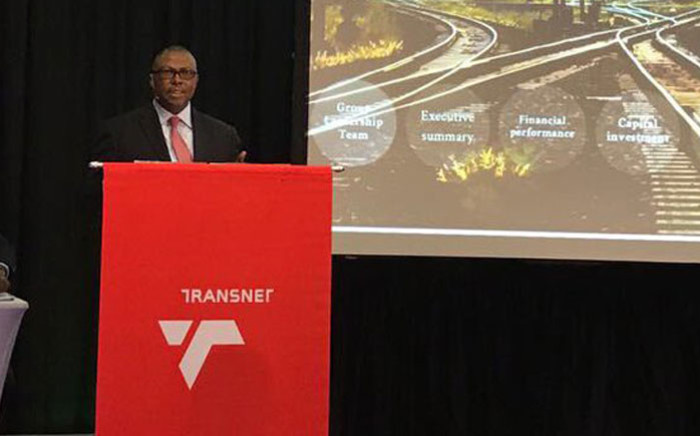 FILE: Transnet Group chief executive Siyabonga Gama. Picture: @follow_transnet/Twitter