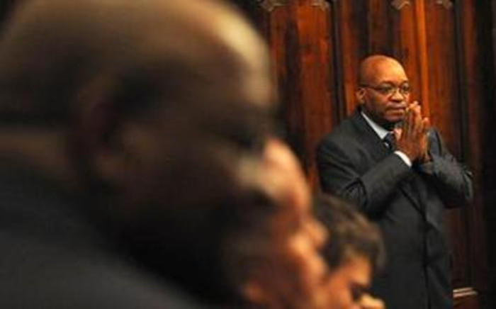 File Picture: ANC President Jacob Zuma in the Supreme Court of Appeal. Picture: Werner Beukes/SAPA