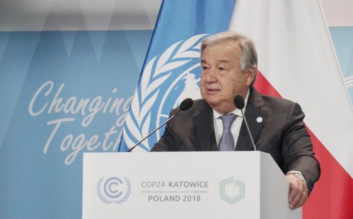 UN chief Antonio Guterres. Picture: @Antonioguterres/Twitter