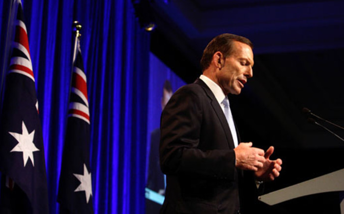Australian Prime Minister Tony Abbott. Picture: AFP.