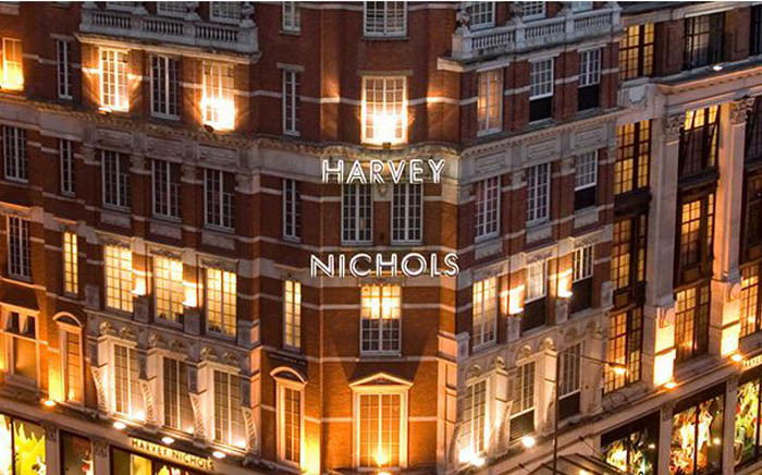 The Harvey Nichols store in Knightsbridge, London. Picture: harveynichols.com.