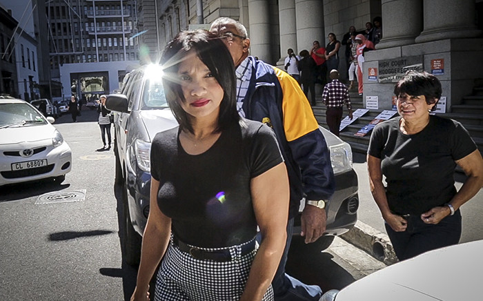 FILE: Celeste Nurse, the biological mother of Zephany Nurse, outside the Western Cape High Court. Picture: Thomas Holder/EWN