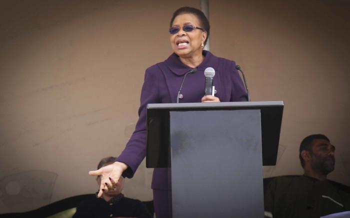 FILE: Graca Machel on Mandela Day 2017. Picture: Cindy Archillies/EWN