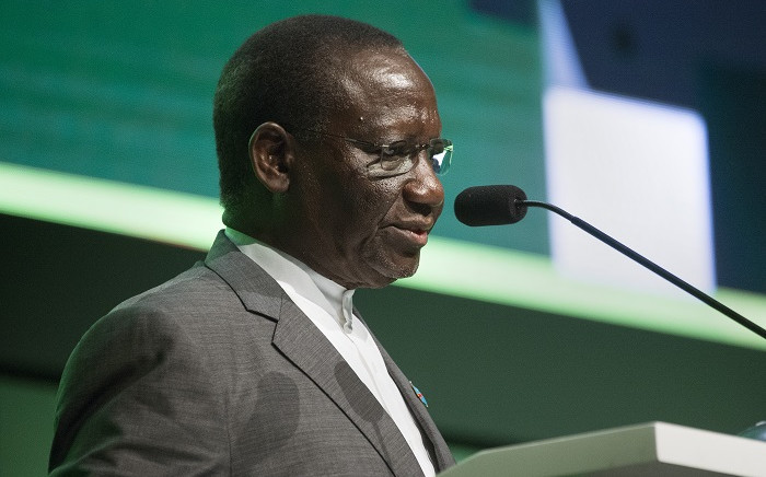 FILE: Sylvestre Ilunga Ilunkamba, Prime Minister of the Democratic Republic of Congo, speaks during the first day of the Mining Indaba in Cape Town, on February 3, 2020. Picture: Rodger Bosch/AFP.