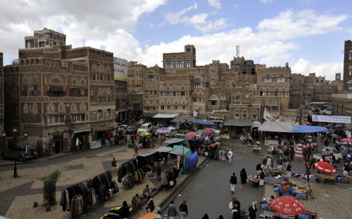 The Old City of Sana'a, Yemen, on 24 November 2014. Picture: EPA.