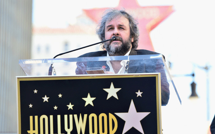 FILE: Director Peter Jackson attends a ceremony honoring him with the 2,538th Star on The Hollywood Walk of Fame on 8 December2014 in Hollywood, California. Picture: Getty Images/AFP.