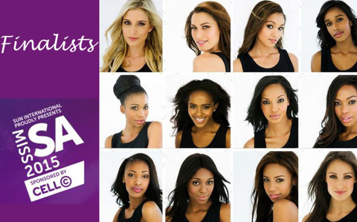 Miss South Africa finalists. Picture: Image: EWN