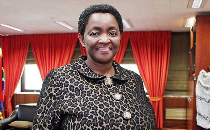 African National Congress Women's League (ANCWL) President & Social Development Minister Bathabile Dlamini. Picture: Facebook.