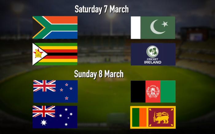 Cricket World Cup desk.  Picture: EWN