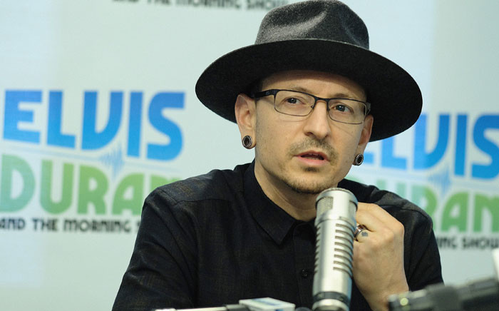 FILE: Linkin Park lead singer Chester Bennington in February 2017. Picture: AFP.