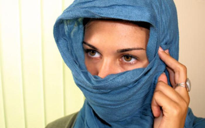 Islamic headscarf.