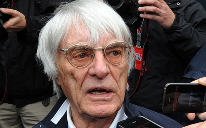 Formula One supremo Bernie Ecclestone. Picture: AFP