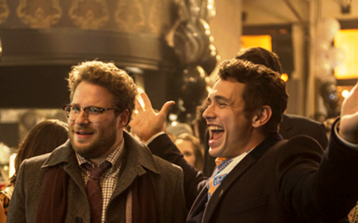Seth Rogan and James Franco in 'The Interview'. Picture: The Interview Facebook Page.