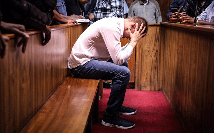 FILE: Nicholas Ninow, the man accused of raping a seven-year-old girl in a restaurant bathroom in Pretoria, appears in the Magistrates Court in Pretoria. Picture: Abigail Javier/EWN