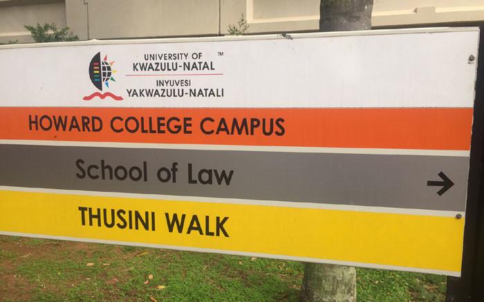 The University of KwaZulu-Natal Howard Campus. Picture: Kgothatso Mogale/EWN.