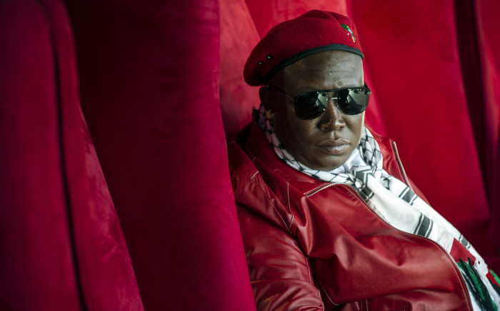 FILE: Economic Freedom Fighters leader Julius Malema. Picture: AFP