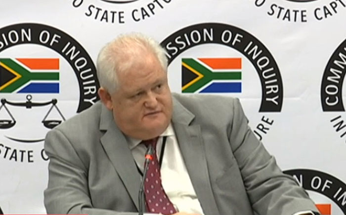 FILE: Angelo Agrizzi, whose bombshells are still reverberating throughout the country's body politics and public discourse, will be quizzed about his testimony. Picture: YouTube screengrab.