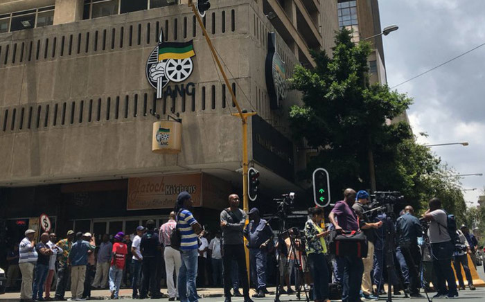 FILE: Chief Albert Luthuli House, the ANC's headquarters in Johannesburg on 5 February 2018. Picture: Pelane Phakgadi/EWN