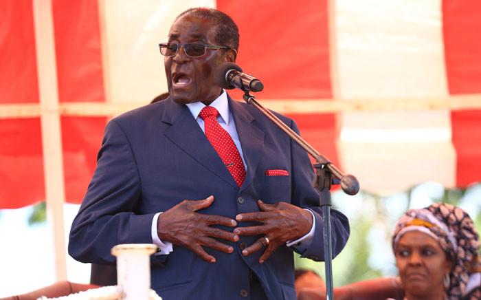 Zimbabwean President Robert Mugabe. Picture: EPA/Aaron Ufumeli.