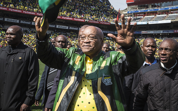 ANC President Jacob Zuma. Picture: Reinart Toerien/EWN