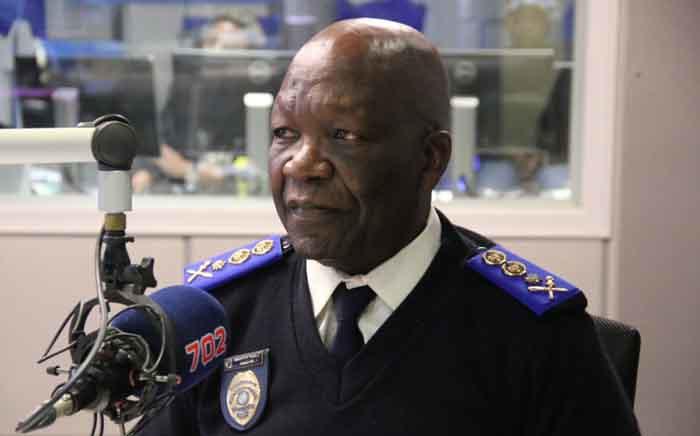FILE: JMPD chief David Tembe. Picture: Radio 702.