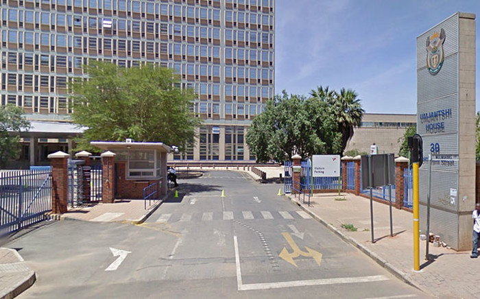 Prasa's head office next to Park Station at Umjantshi House on Wolmarans Street, Braamfontein. Picture: Google Earth.
