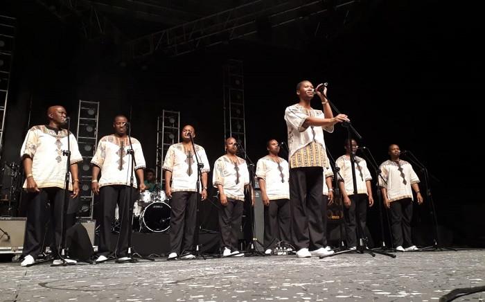 Ladysmith Black Mambazo at the Bassline Fest on 26 May 2018. Picture: Lungelo Matangira/EWN