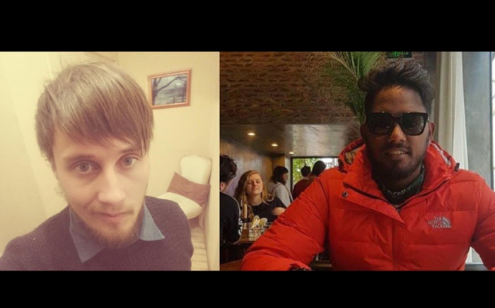 There has been no sign of John Bothma and Mushfiq Daniels, who disappeared in Vietnam this year. Picture: EWN.