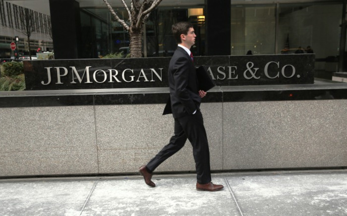 FILE: The JPMorgan Chase headquarters stands in Midtown Manhattan on 8 January 2014 in New York City. Picture: AFP.