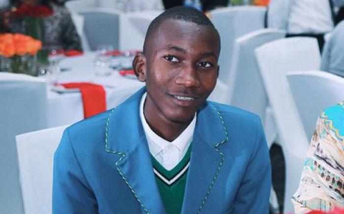Fortune Khoza. Picture: @DBE_SA/Twitter
