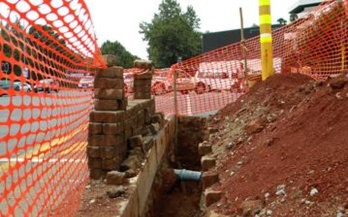 FILE: Construction in Sandton, Johanneburg. Picture: EWN