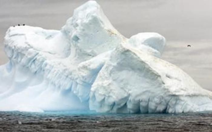 FILE: View of Collins Glacier in Antarctica