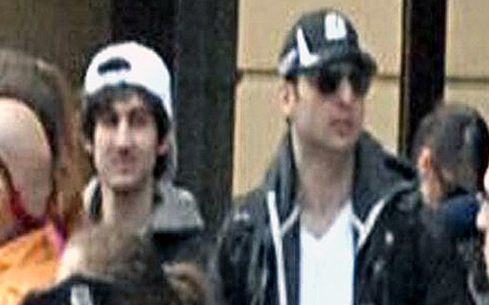 FILE: A screengrab image from CCTV footage released by the FBI of the Boston Marathon bombing suspects. Picture: FBI.gov