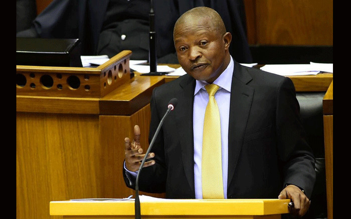 FILE: Deputy President David Mabuza answering questions from Members of Parliament in the National Assembly. Picture: GCIS
