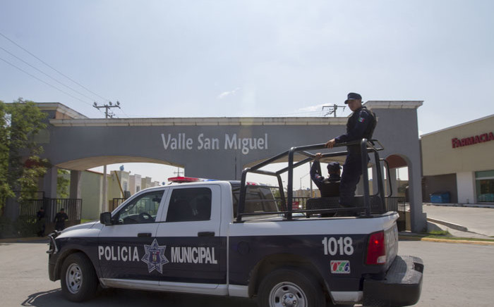 FILE: A Mexican police official. Picture: AFP