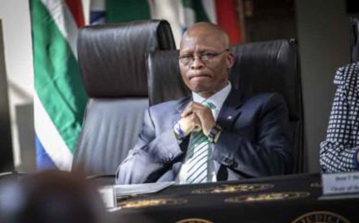 Chief Justice Mogoeng Mogoeng at the handing over of the list of members of the National Assembly and provincial legislatures on 15 May 2019. Picture: Abigail Javier/EWN