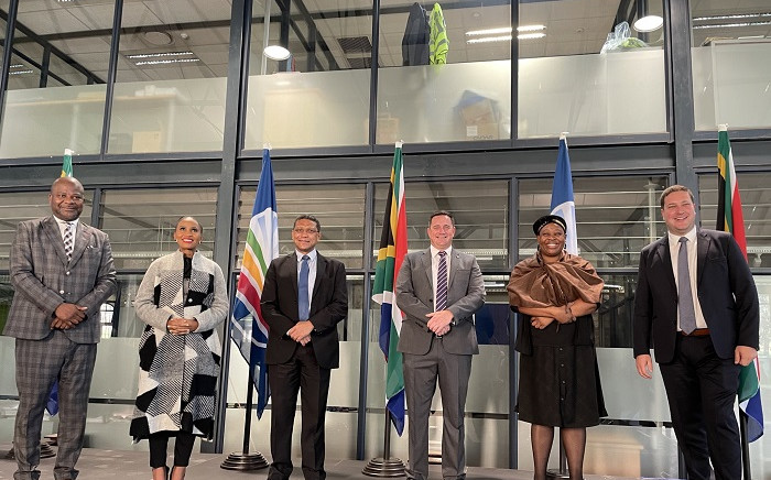 The DA's new mayoral candidates. Picture: Democratic Alliance/Twitter.