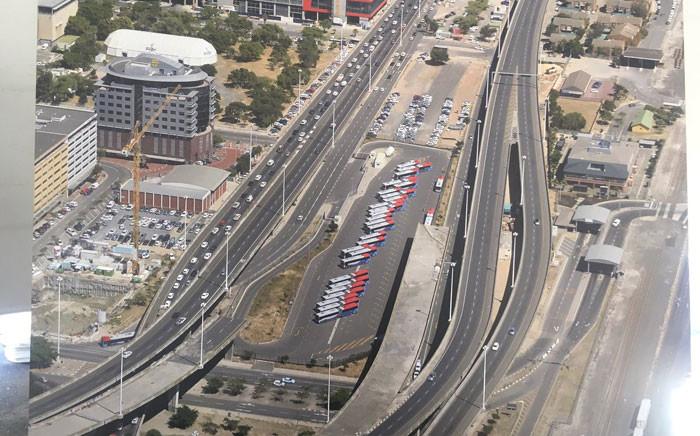 FILE: The Cape Town inner city bridge. Picture: @PatriciaDeLille.
